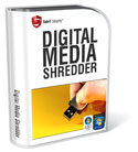 Digital Media Shredder - Vista Certified Shredder for permanently erasing and removes all info from USB sticks and flash memory cards